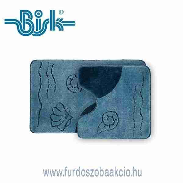 Fürdőszoba Szőnyegek BISK Fürdőszoba Szőnyeg 50x80 cm Kék 2 ...